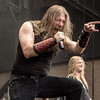 Amon Amarth on the Main Stage at Mayhem Festival 2013 - June 29, 2013