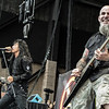 Frank Bello, Joey Belladonna, and Scott Ian