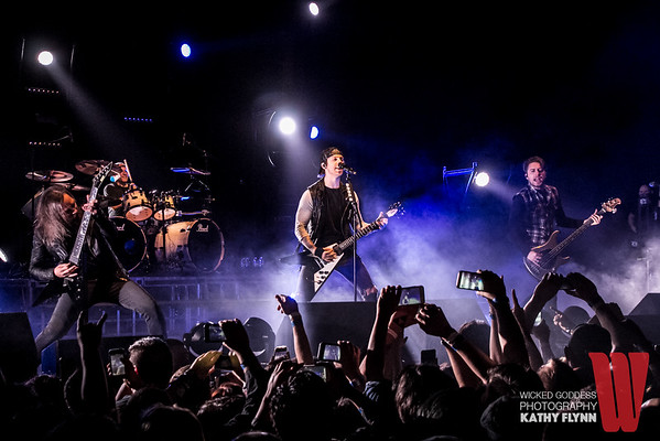 Bullet For My Valentine at the Wiltern