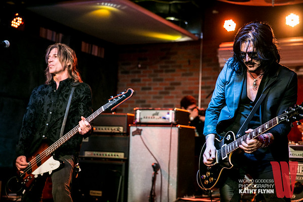 Gilby Clarke at Soundcheck Live at Lucky Strike
