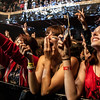 Fall Out Boy fans react as the band takes the stage