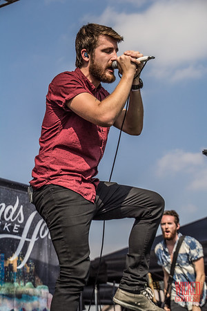 Hands Like Houses at the Self Help Festival