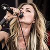 Huntress on the Jaggermeister Stage at Mayhem Festival 2013 - June 29, 2013