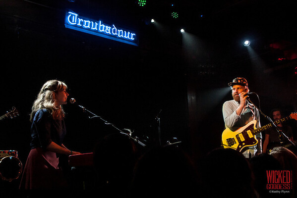 The Hush Sound at the Troubadour - March 3, 2013