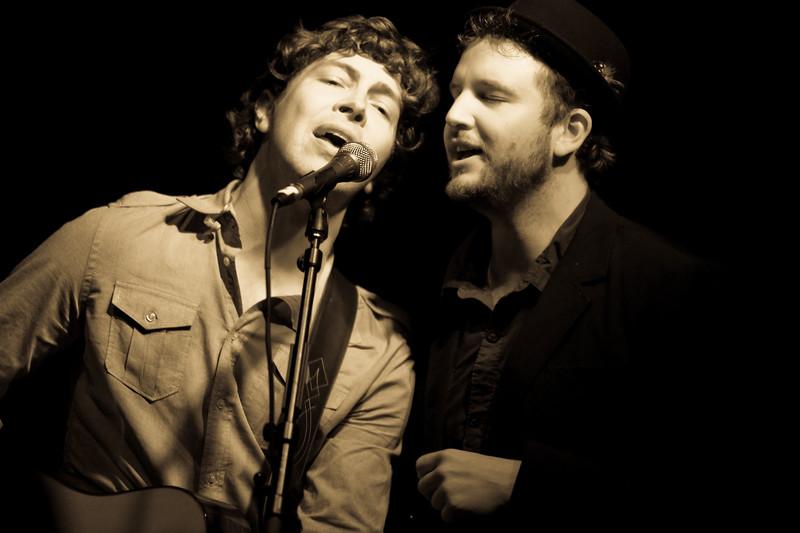 Matt Wertz and Tim Warren at Warehouse Live - Houston, TX