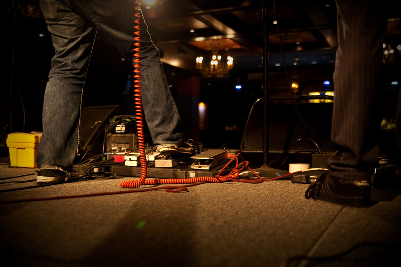 The Alternate Routes soundcheck at House of Blues Dallas
