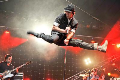 Maximo Park performing at BBC Radio 1 Big Weekend - 10/05/09
