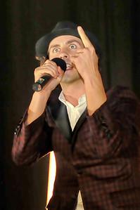 Maximo Park performing at Brixton Academy - 27/05/09