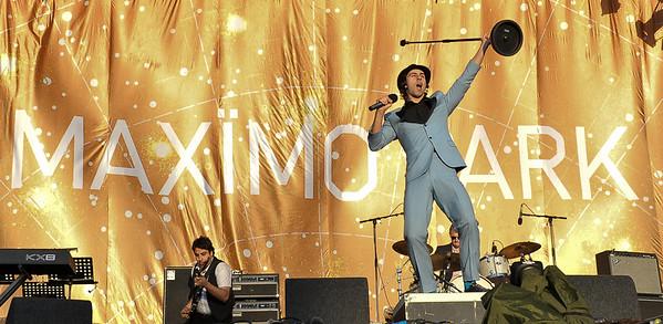 Maximo Park perform at Reading Festival 2009 - 29/08/09