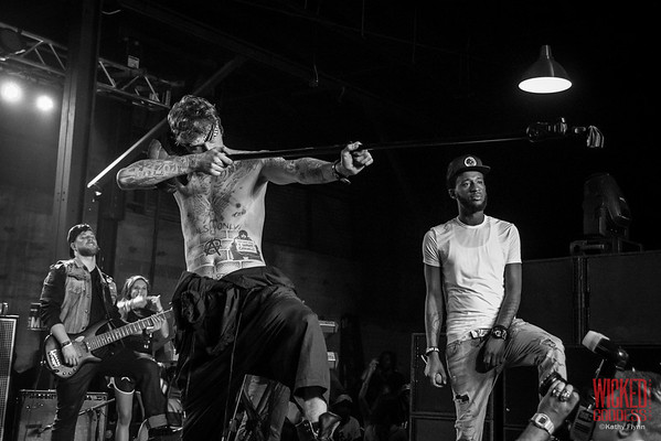 Machine Gun Kelly at 1100 Warehouse, SXSW 14