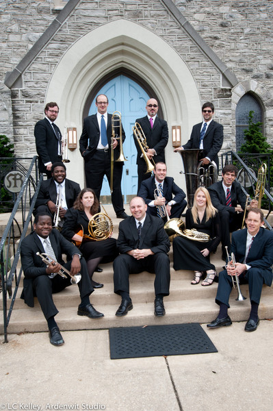 An ensemble at ease, and ready to share their music
