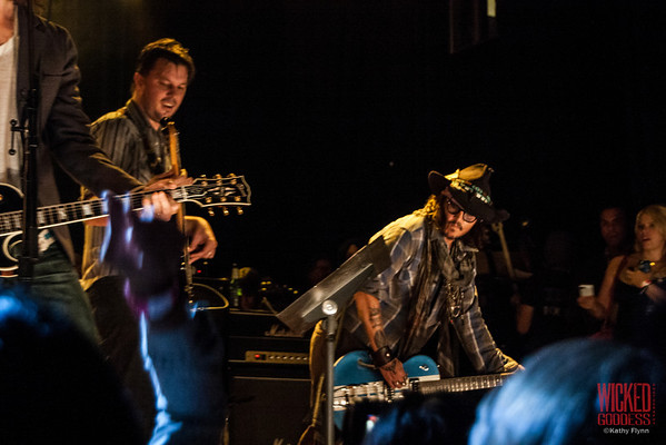 Austin Scaggs and Johnny Depp at Petty Fest - 11/14/12