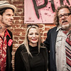 Sean Wheeler, Iris Berry and Zander Schloss at the Punk Rock Museum