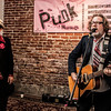Sean Wheeler and Zander Schloss at the Punk Rock Museum