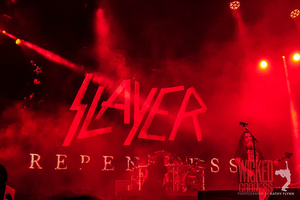 Slayer at Mayhem Fest 2015