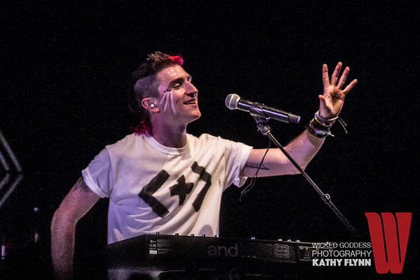 Walk the Moon at the Greek Theater