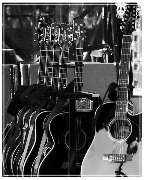 Bruce Springsteen's guitars