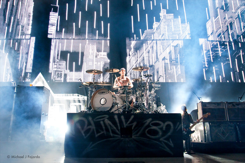 Travis Barker<br /> Blink 182<br /> 2011 Honda Civic Tour<br /> Comfort Dental Amphitheatre<br /> September 4, 2011