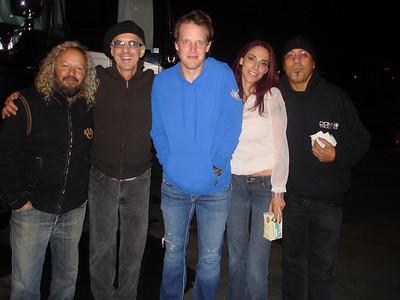 With my Angels Tal,Rick, Joe n Carmelito @ Joe Bonamassa 2011 Tour Grove Anaheim