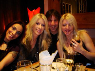 Happy B- Day Carmelito!!!!! Ana, Katja, Chris & Claire Vranian @ Cafe the Artistes Holywood