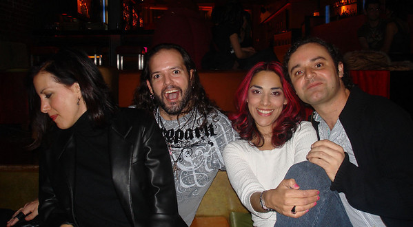 Dina, Paul , me and Jose