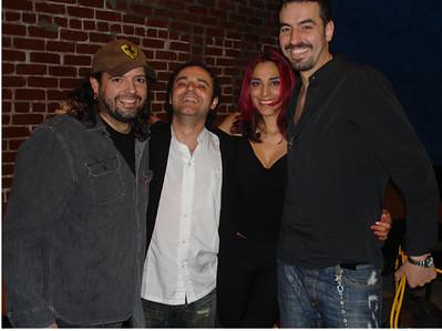 Paul, Jose, Ana Sidel and Vic