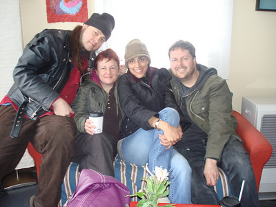 Miss You guys!!! Petr, Sara, Me and Rob
