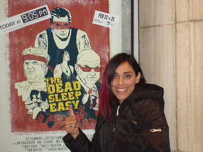 Yes!!! That crazy mexican woman in the poster is me!!!!!!!!!!!!