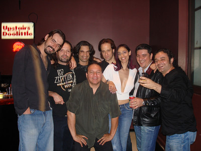 Hanging at The VIP Room of The Montalban Ana Sidel and Friends