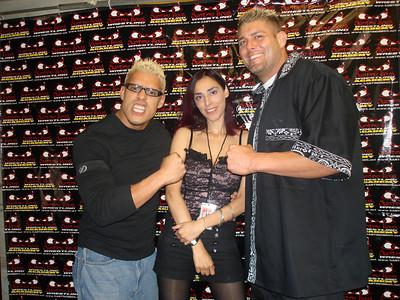 Kaos, Ana Sidel & Aaron Aguilera