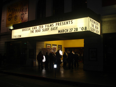 "Marquee "" The Dead Sleep Easy"" Premiere"