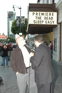 Marquee 1 @ The Dead Sleep Easy  Movie Premier
