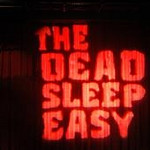 The Dead Sleep easy Curtain
