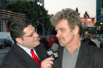 Martin Kove & Press The Dead Sleep Easy Premier