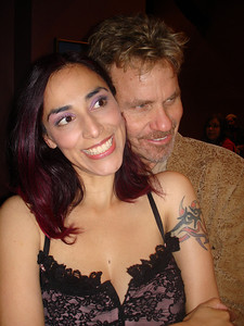 Ana Sidel & Martin Kove March 2008