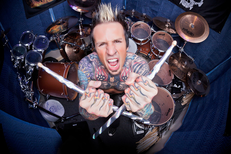 Jeremy Spencer of Five Finger Death Punch 2013