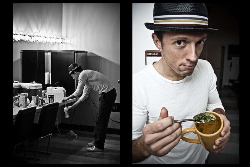 Jason Mraz Backstage @ The Pearl - Las Vegas 2008