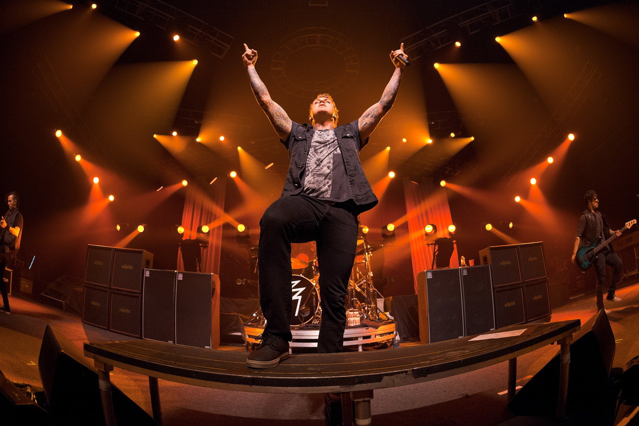 Papa Roach - Hard Rock - The Joint - 2013