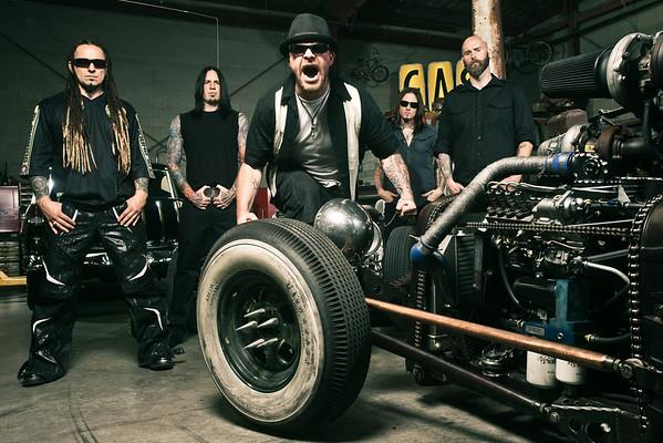 Five Finger Death Punch 2011