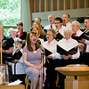 """Come to Jesus"" performance - June 1, 2008<br> Sarah Ackers (Lead Vocals), Fauntleroy Chancel Choir (Backup Vocals)"