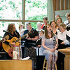 """Come to Jesus"" performance - June 1, 2008<br> Bronwyn Edwards Cryer (Guitar & Vocals), Betsy Boyer (Guitar & Vocals), Sarah Ackers (Lead Vocals), Fauntleroy Chancel Choir (Backup Vocals)"
