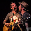 Frank Turner and Butch Walker at the Hotel Cafe