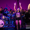 Liv Warfield at the Hollywood Bowl
