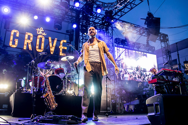 X Ambassadors at the 2018 Summer Music Series at the Grove,  August 1, 2018.