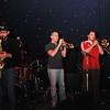 Seth Bailey, trumpet ; Kirk Silver, trombone; Matt Reagan, guitar.