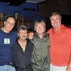 (L to R) Gerry Sorrentino, Mario Stiano, Kim Simmonds & Jim Quinn