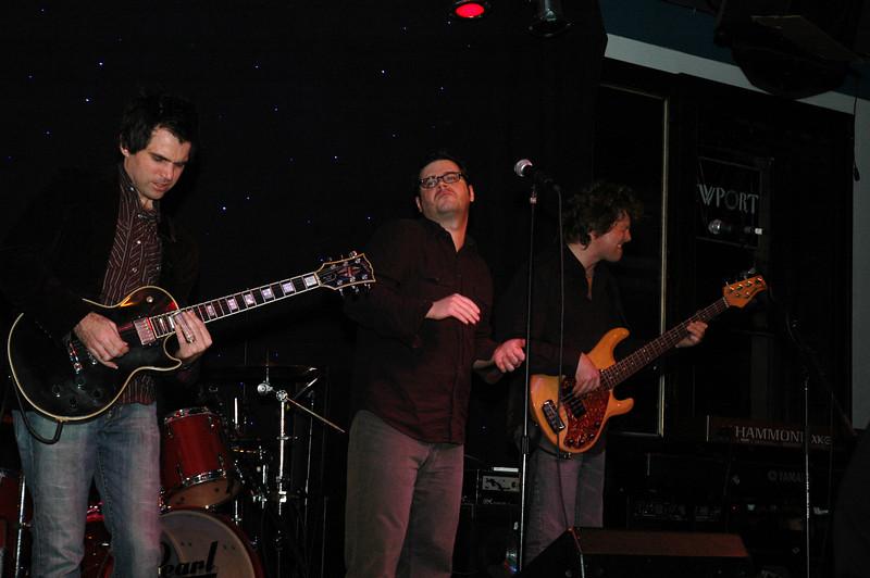 The Generators<br /> Charlie O'Neal, guitar; Craig Rawding, vox/harp; Rick O'neal, bass.