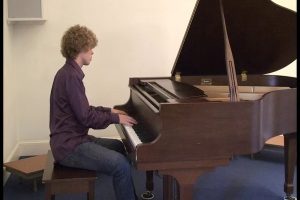 Seth Yoder playing Polichinelle Op. 3 No. 4 by Rachmaninov, October 2009.  This video made at Salford Mennonite Church... Seth originally played this for the Ithaca Piano Competition.