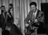 Martin Pizzarelli, Larry Fuller, John Pizzarelli at the Bull Run Restaurant, Shirley, Mass.