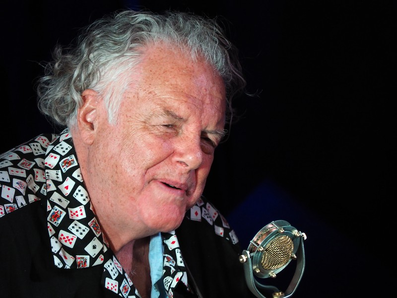 Peter Rowan performing at The Sportsmen's Tavern in Buffalo, NY May 2014